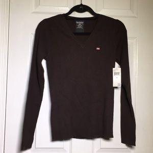 NEW Polo Ralph Lauren Ribbed V-Neck Sweater